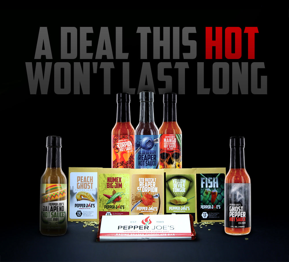 Black Friday Deals! Free Hot Sauces and Free Seeds!