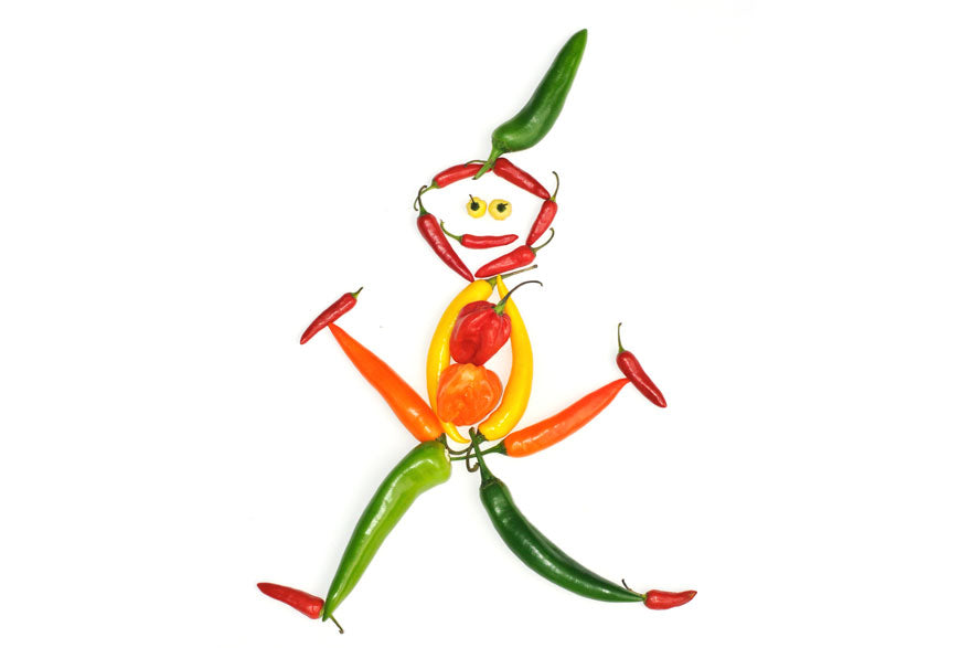 Funny Hot Pepper Man - Pepper Joe's