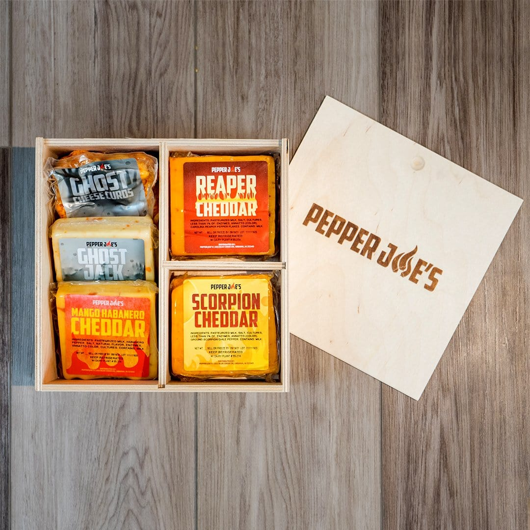 Spicy Cheese Gift Box Set