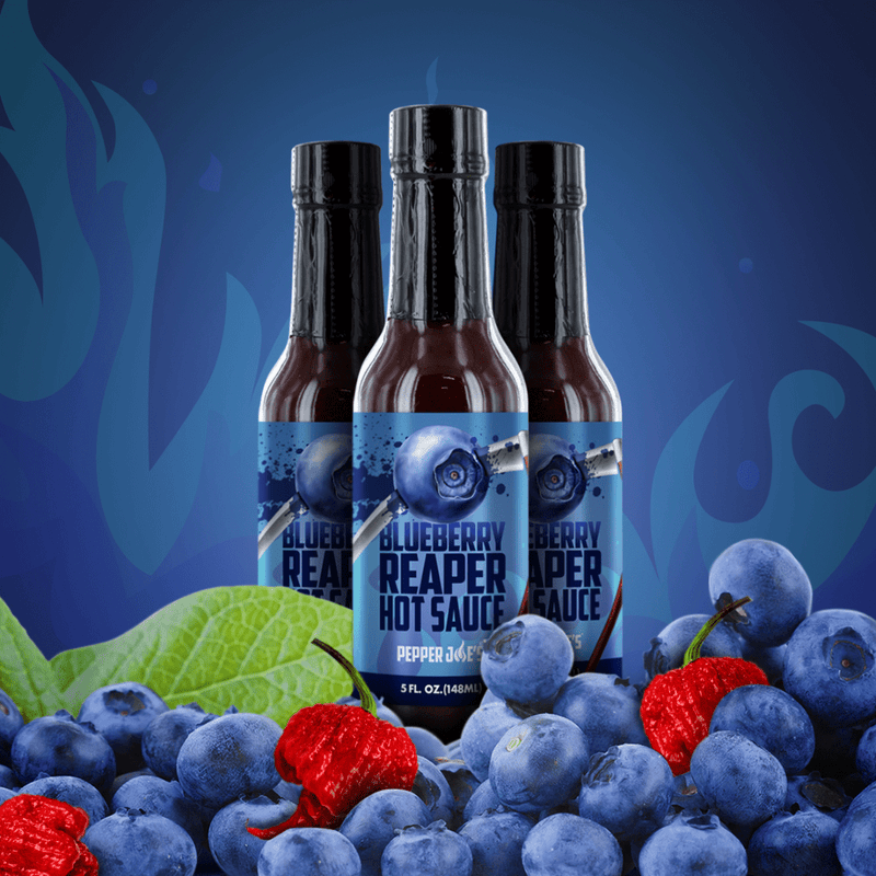 Blueberry Hot Sauce - Pepper Joe's Blueberry Reaper Hot Sauce