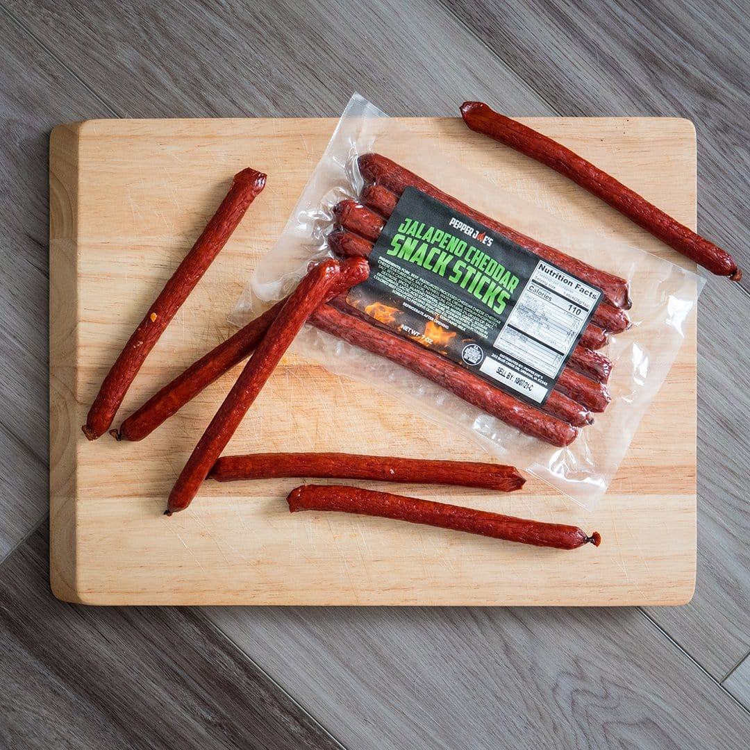 Jalapeno Cheddar Snack Sticks