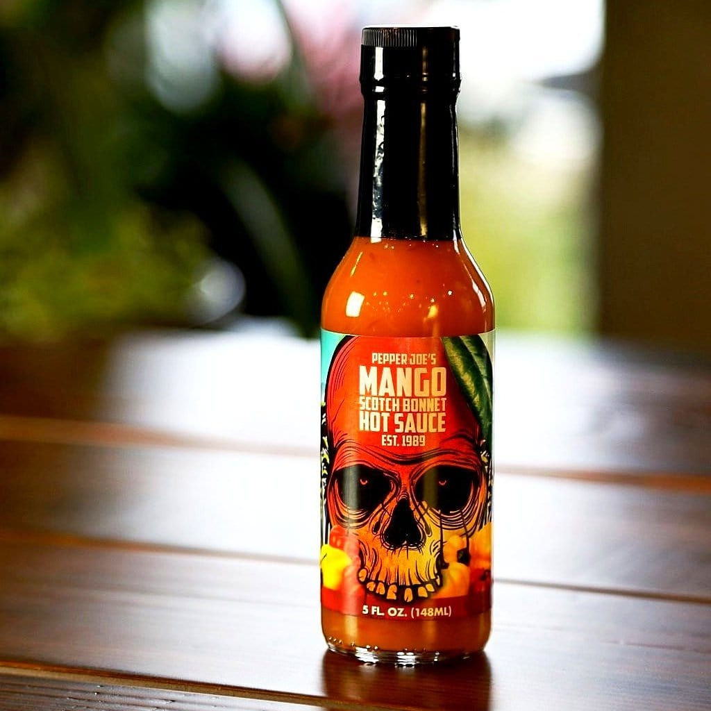 Pepper Joe's Gourmet Mango Scotch Bonnet Hot Sauce