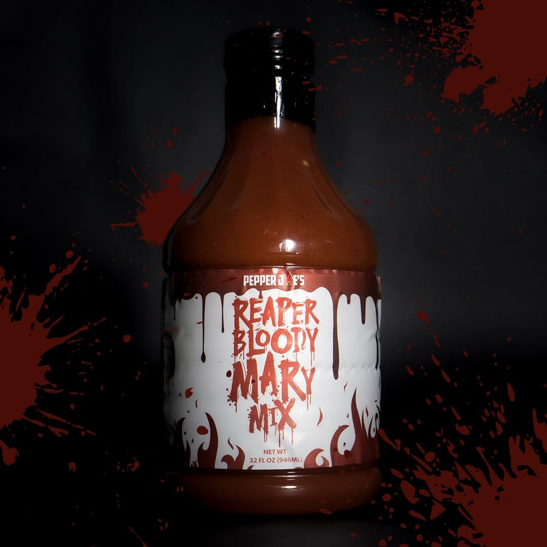 Carolina Reaper Bloody Mary Mix - World's Hottest Bloody Mary Mix