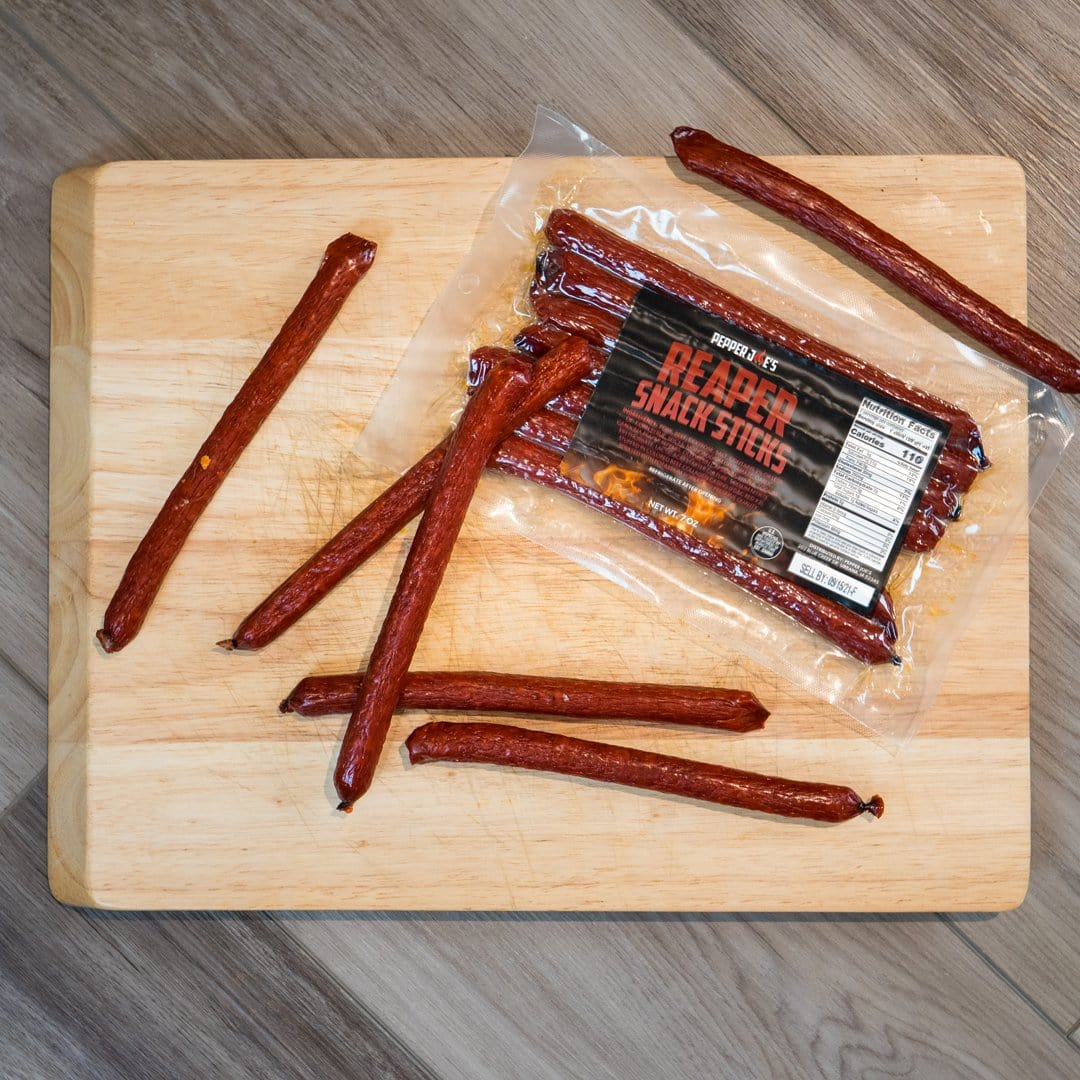 Carolina Reaper Snack Sticks