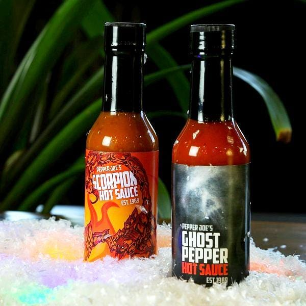 Pepper Joe's Hot Sauce 2 Pack