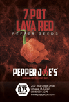 7 Pot Lava Red Pepper Seeds