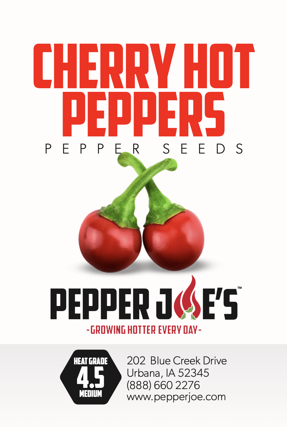Cherry Hot Pepper - Pepper Joe's