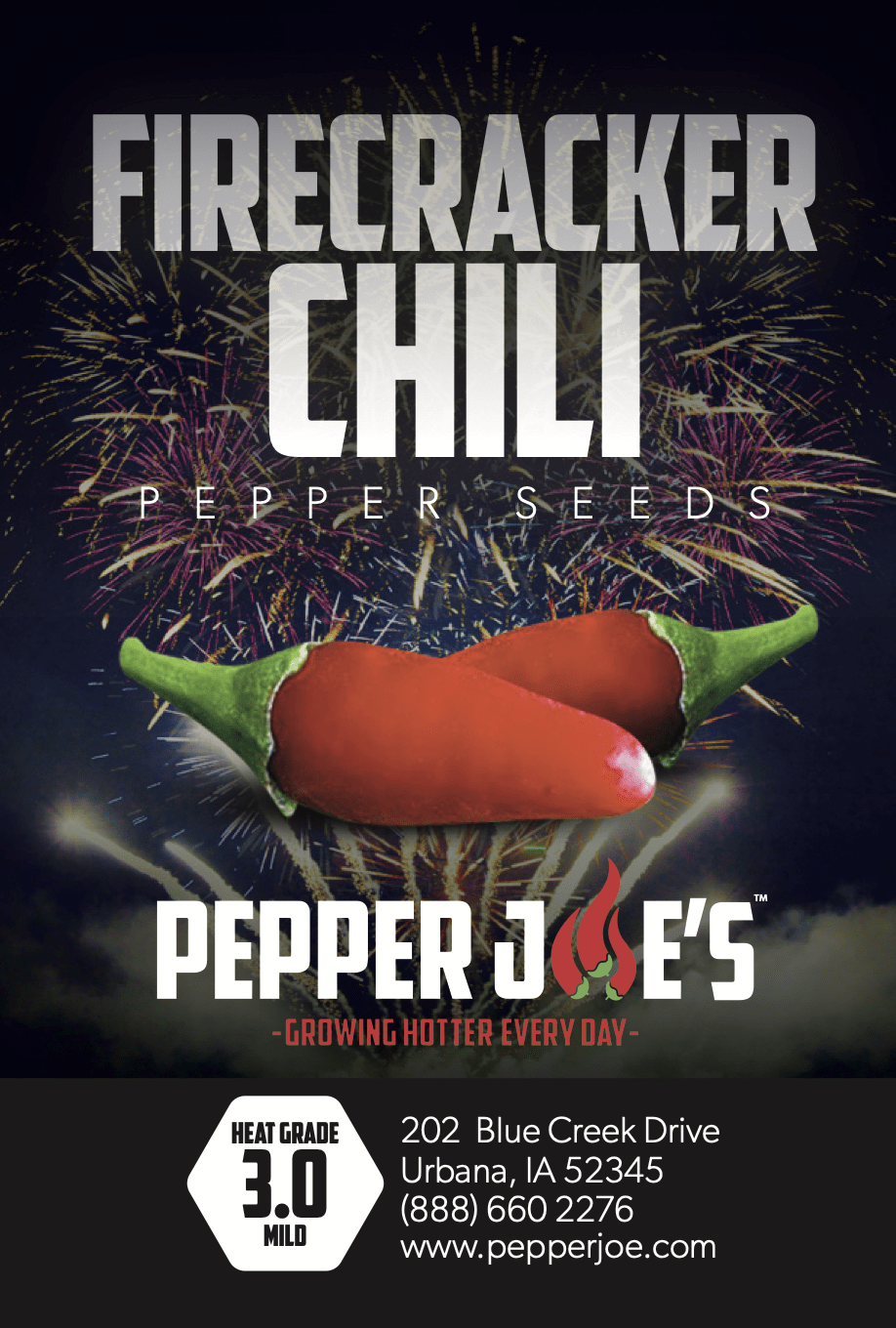 Firecracker Chili Seeds