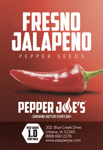 Fresno Jalapeno Pepper Seeds