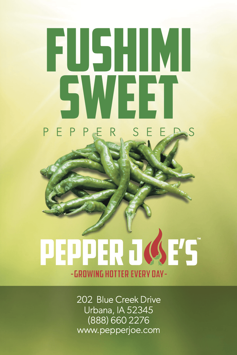 Fushimi Sweet Pepper - Pepper Joe's