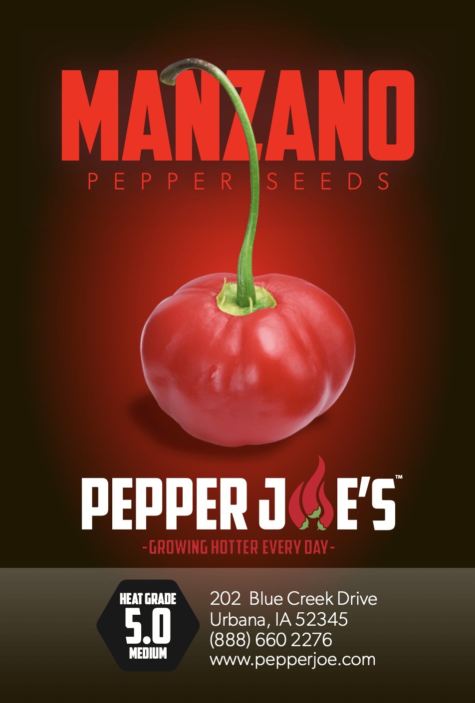 Manzano Red Pepper Seeds