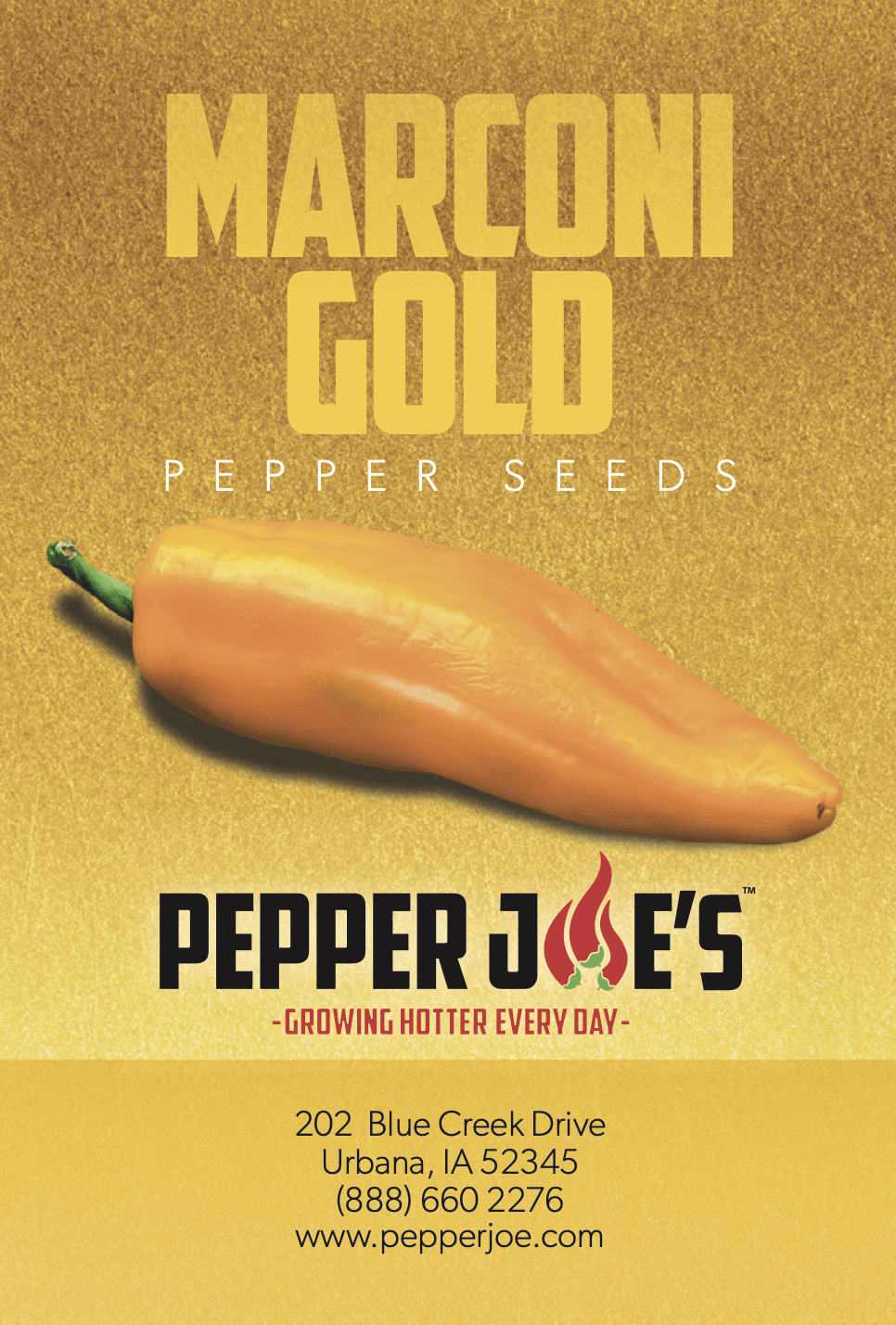 giant marconi sweet pepper, a golden marconi pepper that is a part of the marconi pepper family