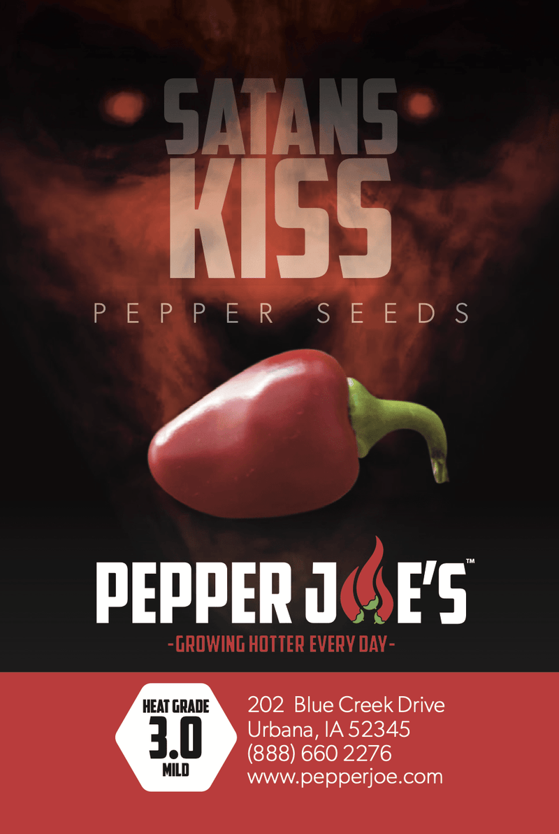 Satan's Kiss - Hot Cherry Peppers - Pepper Joe's