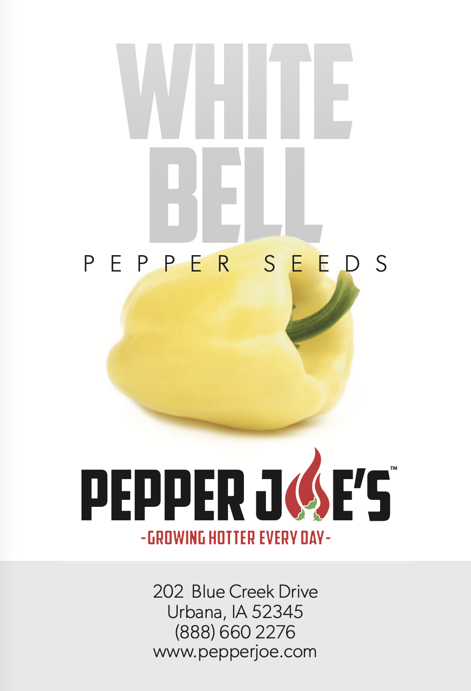 white peppers also known as white sweet pepper