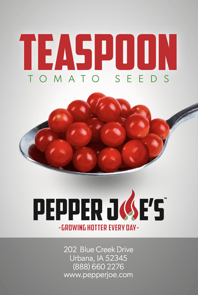 Teaspoon Tomato Seeds