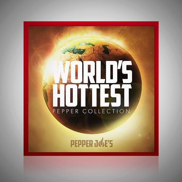 Pepper Joe's World's Hottest Peppers in a Seed Collection