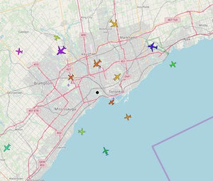 Tracking and logging flights with ADS-B, Flight Aware and Raspberry Pi