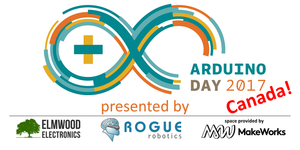 Saturday April 1: Arduino Day Canada!