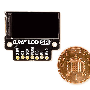 "Pimoroni 0.96"" SPI Colour LCD (160x80) Breakout"