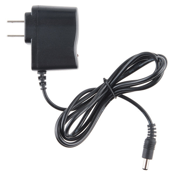 Wall Adapter Power Supply - 9VDC 650mA