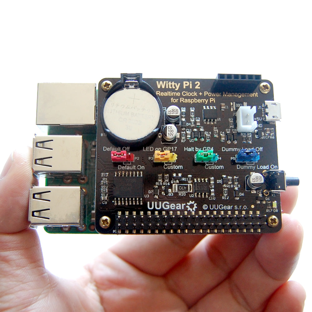 Witty Pi 2: Realtime Clock (RTC) and Power Management for Raspberry Pi