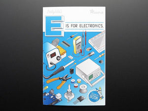 "Coloring book - ""Ladyada's E is for electronics"""