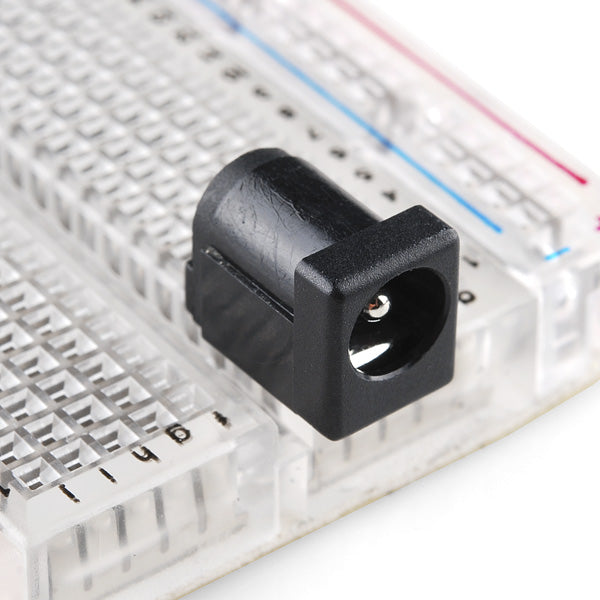 DC Barrel Jack Adapter - Breadboard Compatible