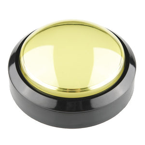 Big Dome Pushbutton - Yellow