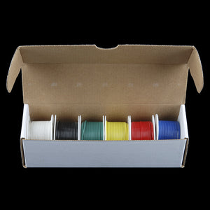 Hook-Up Wire - Assortment (Solid Core, 22 AWG)