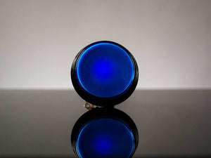 Large Arcade Button with LED - 60mm Blue