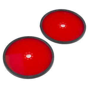 "Precision Disc Wheel - 5"" (Red, 2 Pack)"