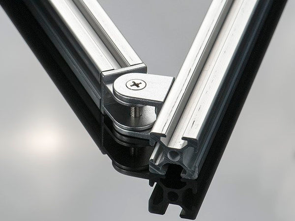 Adjustable Angle Support for 2020 Aluminum Extrusion