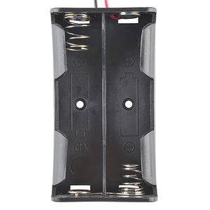 Battery Holder - 2x18650 (wire leads)