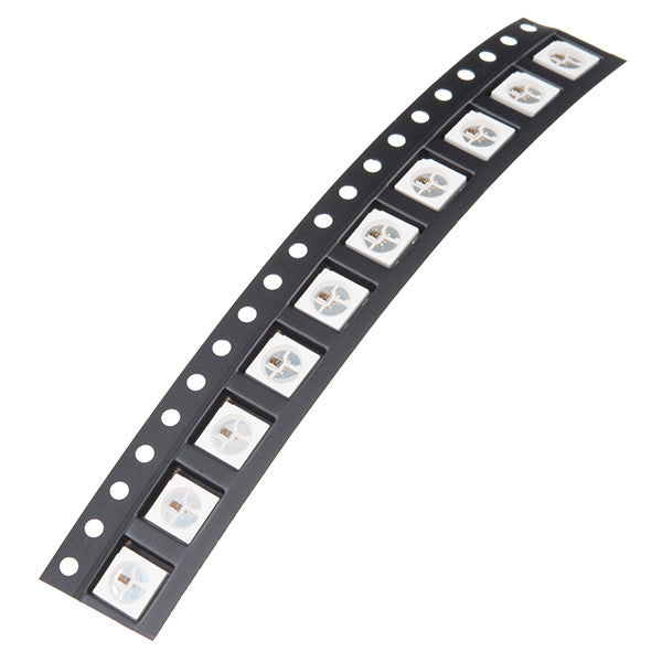 SMD LED - RGB WS2812B (Strip of 10)