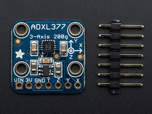 ADXL377 - High-G Triple-Axis Accelerometer (+-200g Analog Out)