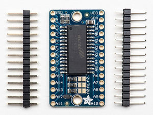 Adafruit 16x8 LED Matrix Driver Backpack -  HT16K33 Breakout