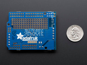 Adafruit Motor/Stepper/Servo Shield for Arduino v2 Kit (v2.3)