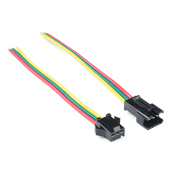 led strip pigtail connector 3 pin elmwood electronics rh elmwoodelectronics ca