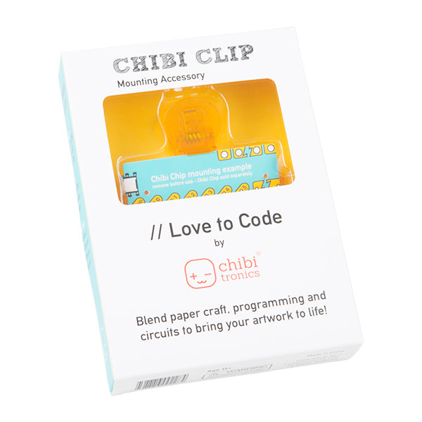Love to Code Chibi Clip Mounting Accessory