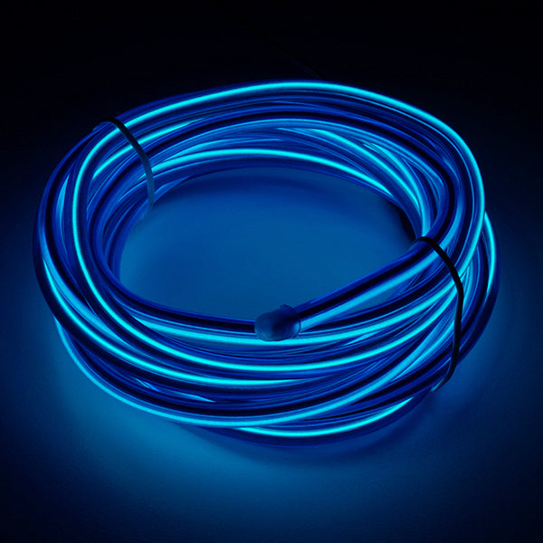 Bendable EL Wire - Blue 3m