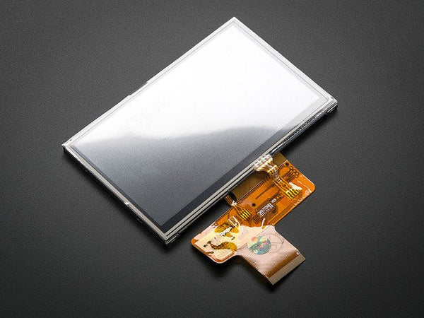 "4.3"" 40-pin TFT Display - 480x272 with Touchscreen"