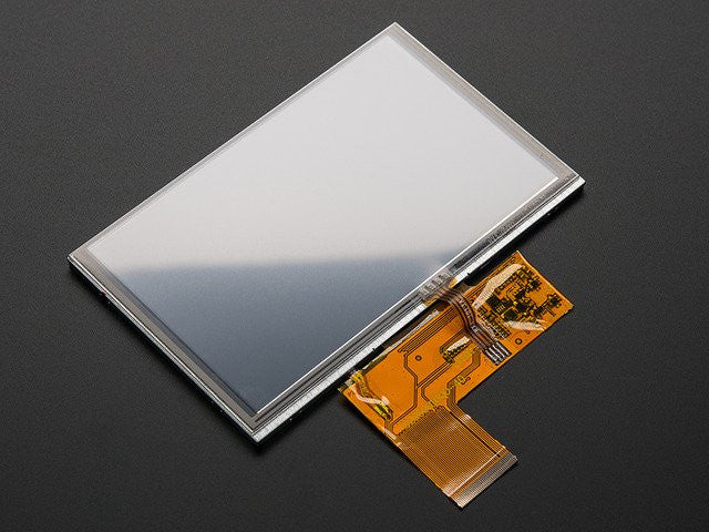 "5.0"" 40-pin TFT Display - 800x480 with Touchscreen"