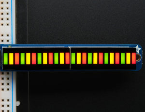 Bi-Color (Red/Green) 24-Bar Bargraph w/I2C Backpack Kit