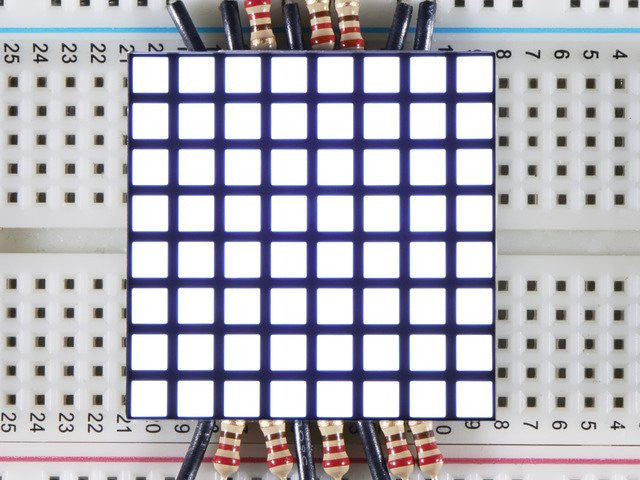 "1.2"" 8x8 Matrix Square Pixel - White"
