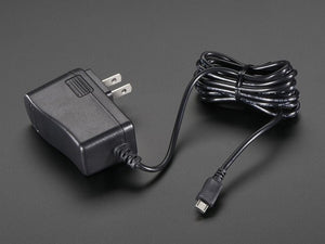 5V 2.4A Switching Power Supply w/ 20AWG 6' MicroUSB Cable
