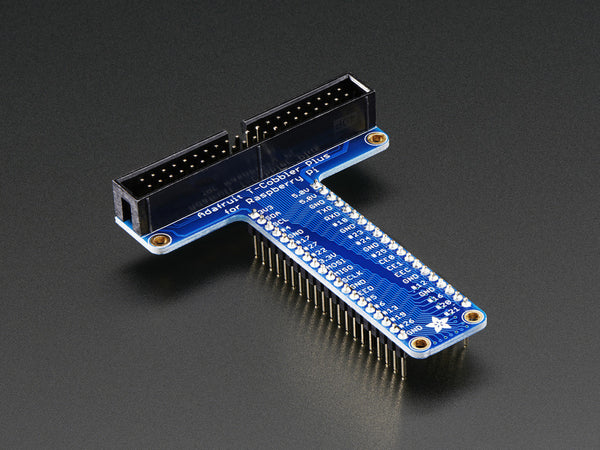 Assembled Pi T-Cobbler Plus - GPIO Breakout for Raspberry Pi A+,  B+, Pi 2 and Pi 3