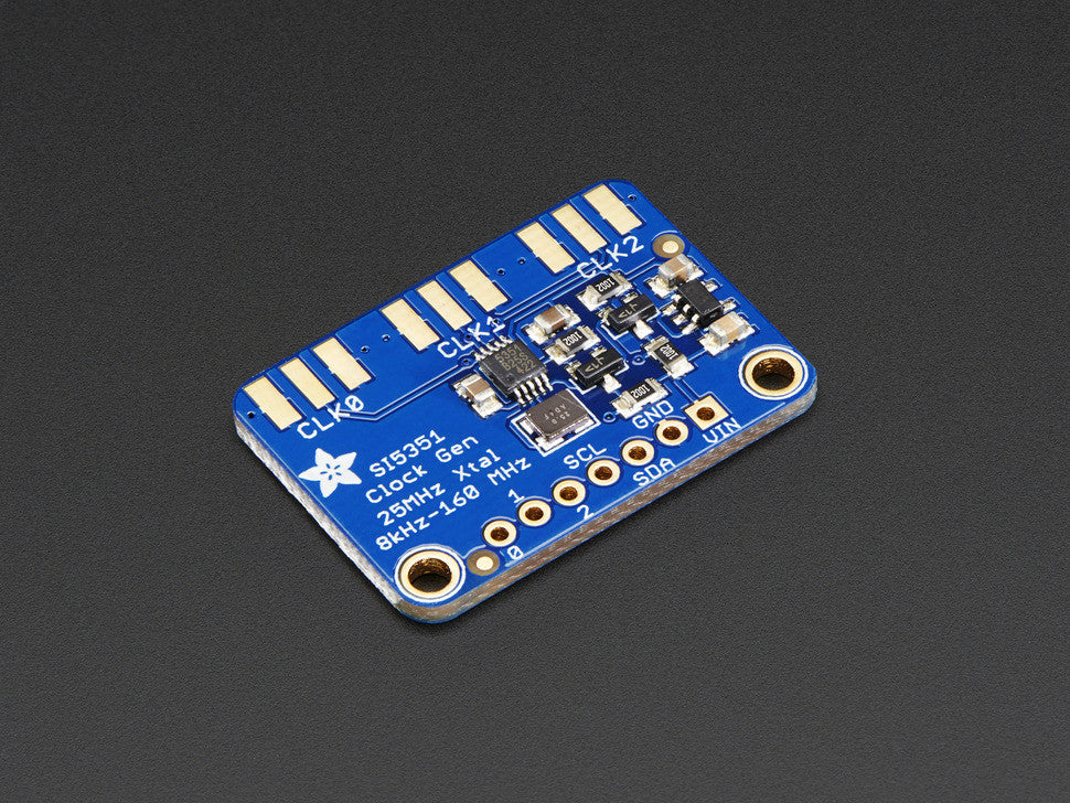 Adafruit Si5351A Clock Generator Breakout Board - 8KHz to 160MHz