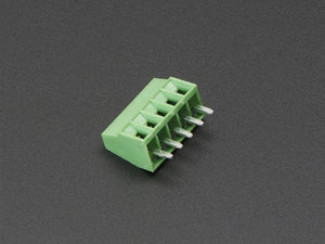 "2.54mm/0.1"" Pitch Terminal Block - 5-pin"