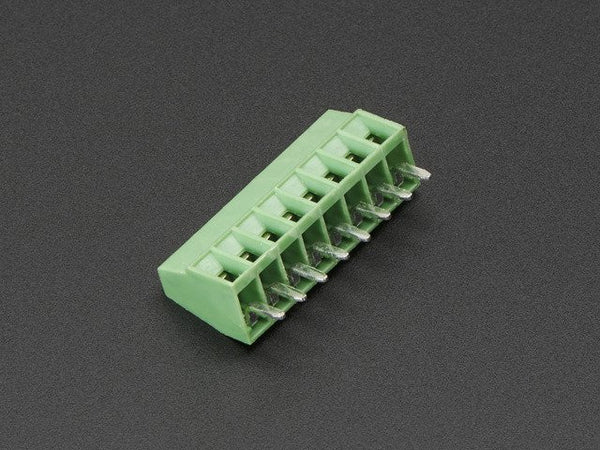 "2.54mm/0.1"" Pitch Terminal Block - 8-pin"