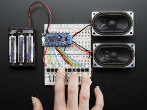 Adafruit-Audio-FX-Sound-Board-+-2x2W-Amp---WAV/OGG-Trigger--16MB